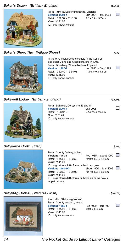 The Pocket Guide to Lilliput Lane Cottages (3rd edition)